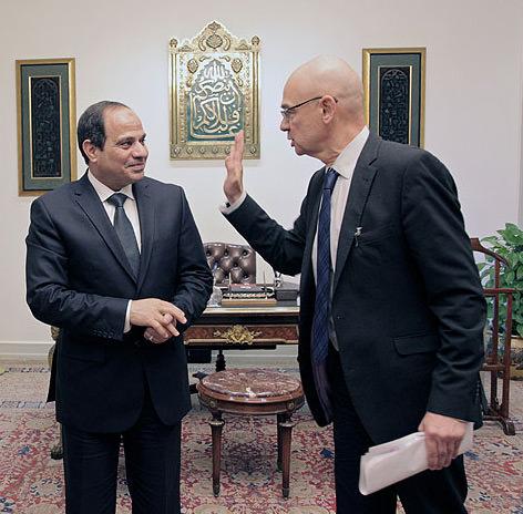 Dieter Bednarz im Spiegelgespräch mit Ägyptens Staatspraesident