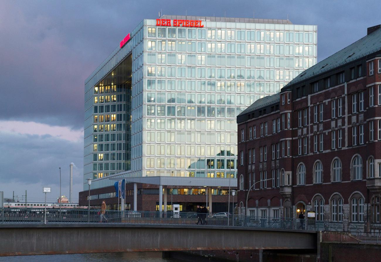 Der Spiegel – Redaktionsgebäude in hamburg