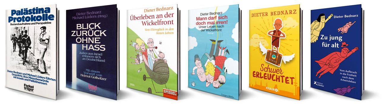 Alle sechs Bücher von Dieter Bednarz