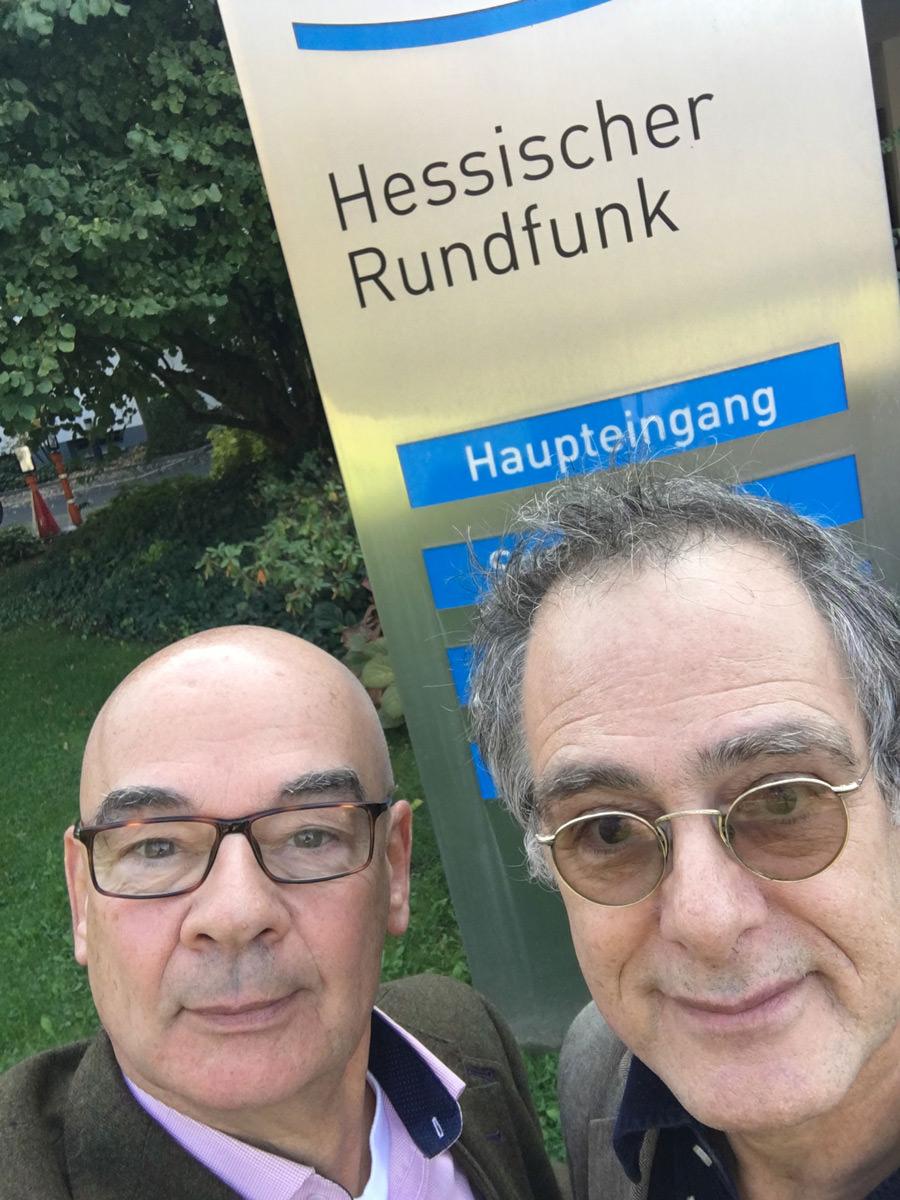 Dieter Bednarz und Jochanan Shelliem
