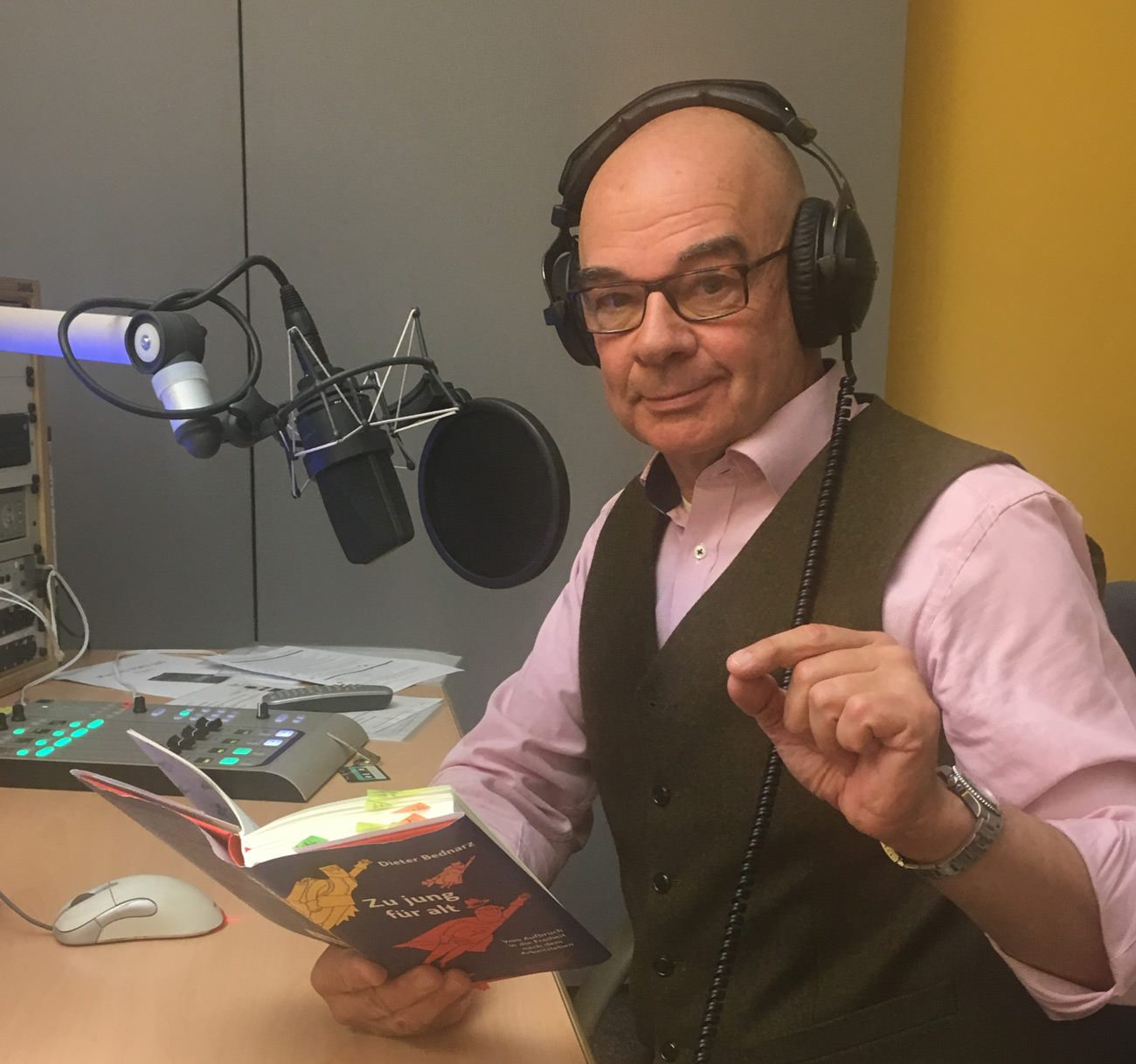 Dieter bednarz beim Hessischen Rundfunk