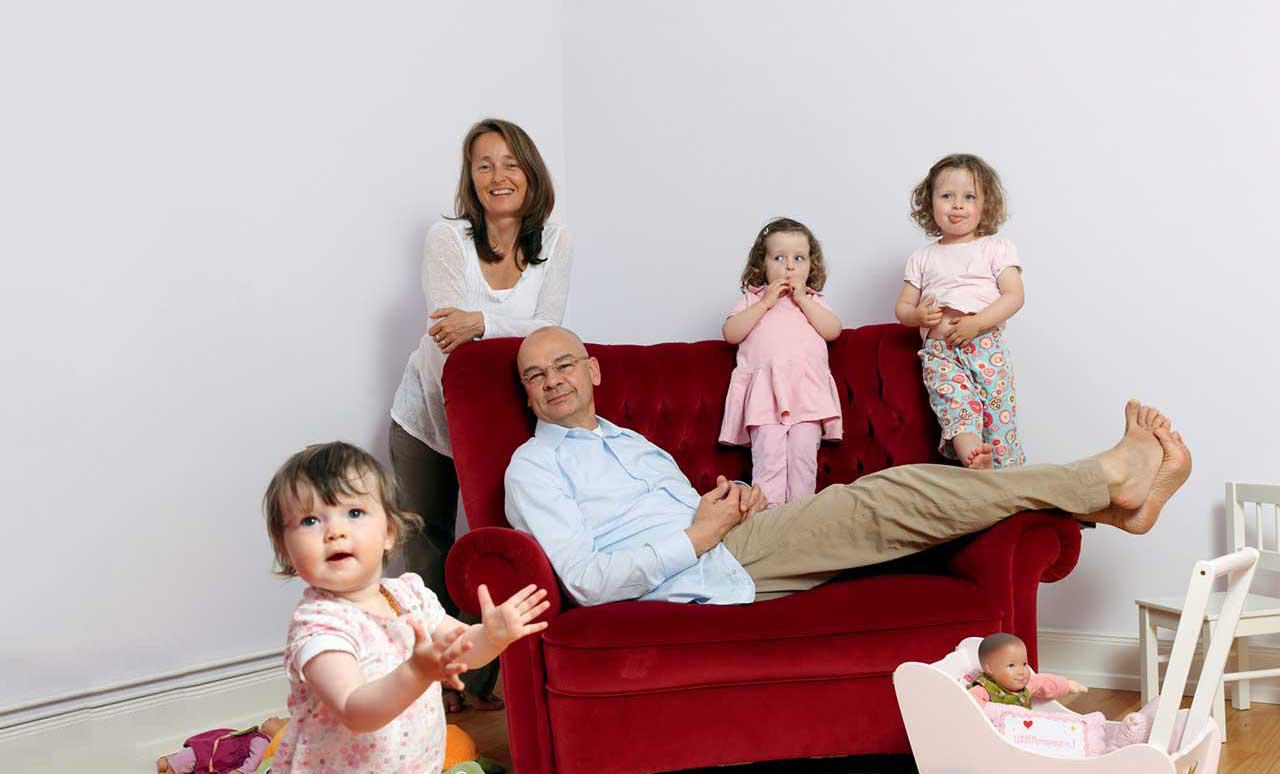 Dieter Bednarz und seine Familie