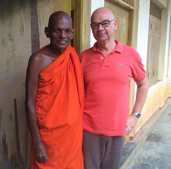 Dieter Bednarz und der Ehrwürdige Mönch Siri