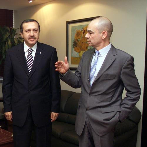 Erdogan und Bednarz im Gespräch