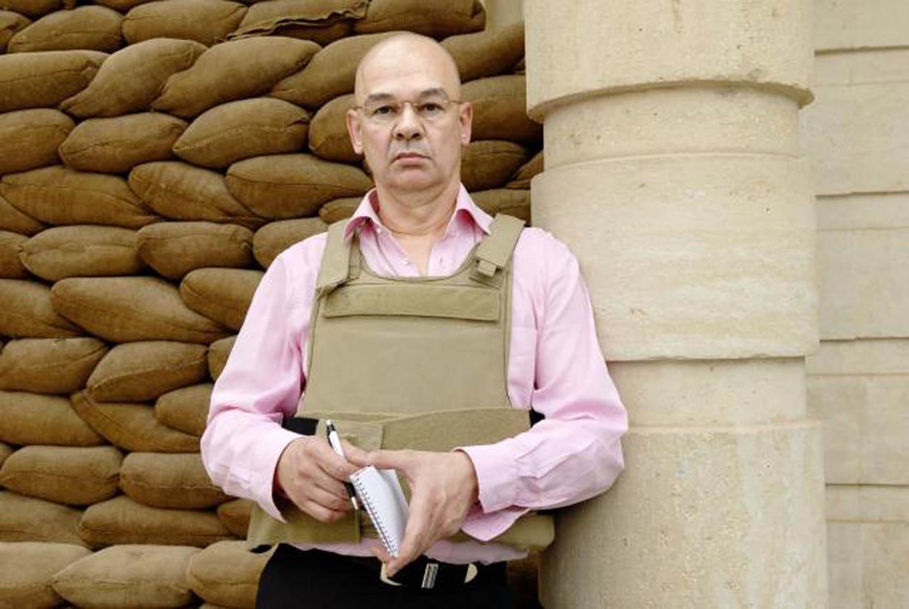 Dieter bednarz als Korrespondent im Nahen Osten
