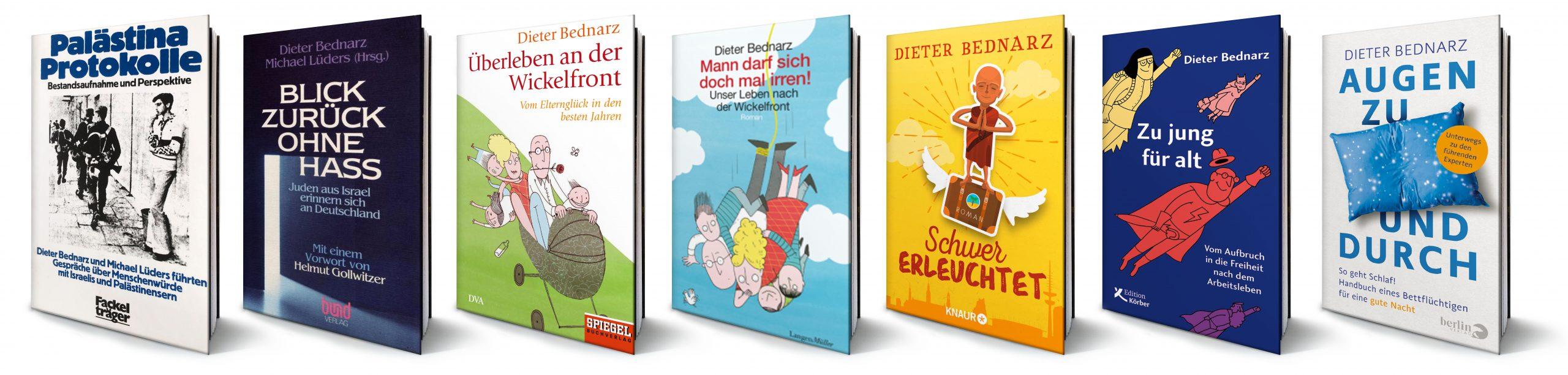 Sieben Bücher von Dieter Bednarz